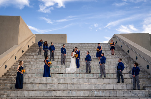 National Hispanic Cultural Center Wedding