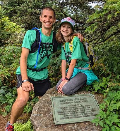Mt Mitchell Running Camp 8/9-11/19