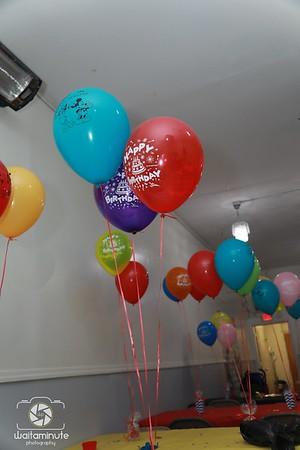 Baby Lamont's 1st Birthday.