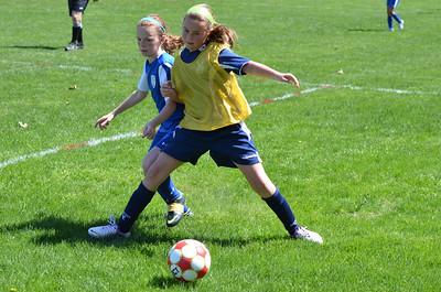 2013.05.04 U12 Girls vs Attleboro