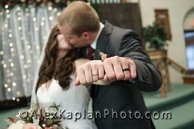 Wedding at Unity Christian Reformed Church, Prospect Park, NJ by Alex Kaplan Photo Video