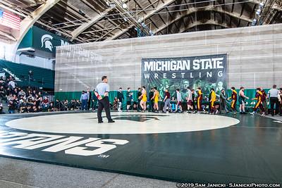 2-22-19 - Michigan State Vs Central Michigan