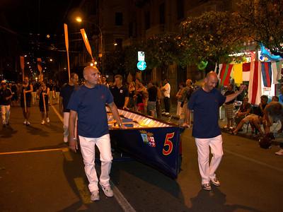 Foto sfilata borgate Palio del Golfo 2012 - Centro Ricreativo Dipendenti Difesa La Spezia
