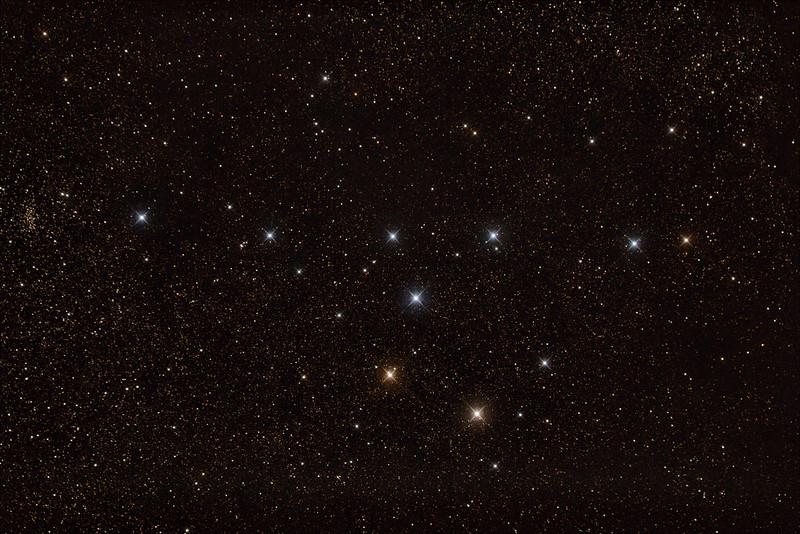 Colinder 399 Brocchi's Cluster, The 'Coathanger'