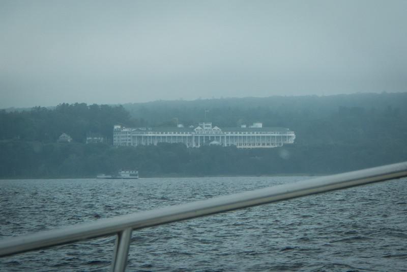 South of Mackinac Island