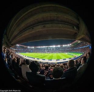 Champion's League PSG vs FC Barcelona September 2014