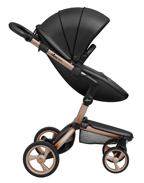 Mima_Xari_Product_Shot_Black_Flair_Rose_Gold_Chassis_Black_Seat_Pod_Side_View.jpg