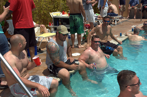 Rookie Show and Pool Party