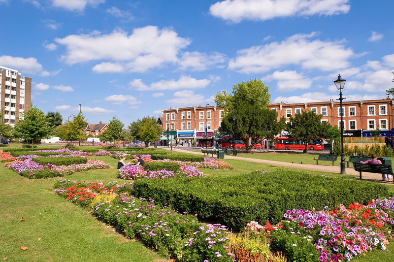 Haven Green, Ealing, W5, London, United KIngdom
