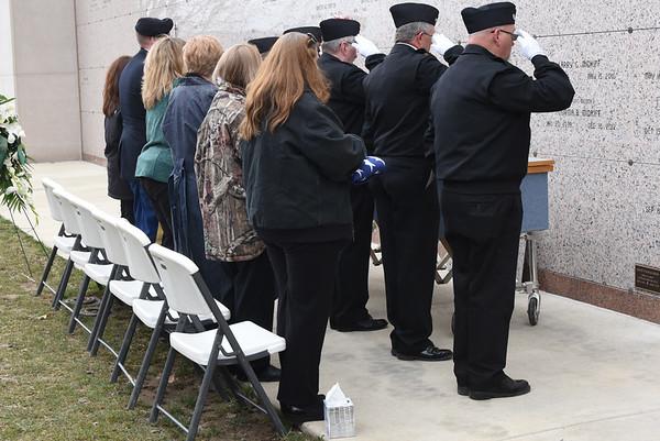 Past Commander SGTM Larry Harris Funeral 3/18/2017