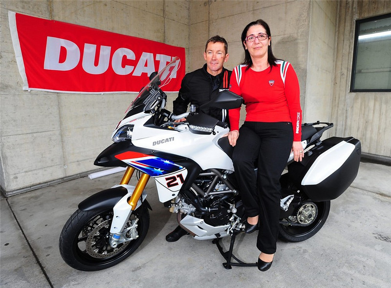 First Look: Ducati Multistrada 1200 Troy Bayliss