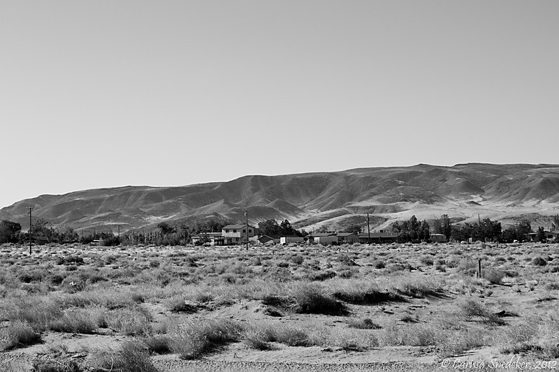 Our neighborhood. The view from our front yard. Silver Springs, Nevada. June 2012. ISO 200, f/16, 1/200s. Canon EOS 7D