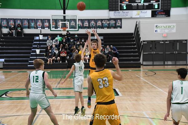 Boys Basketball at Osage