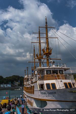2014 Day 8 Japan: Sasebo Kujukushima Islands and Downtown
