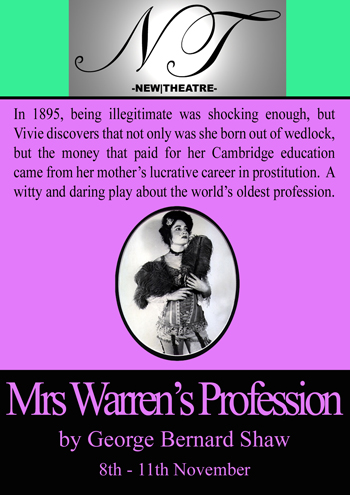 Mrs Warren's Profession poster
