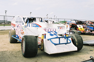 BRP Modifieds, Merrittville Speedway, Thorold, ON, July 9, 2005
