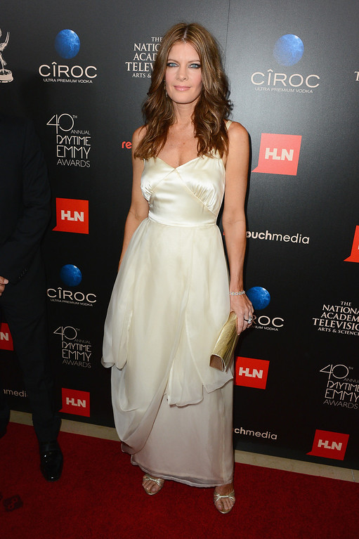 . Actress Michelle Stafford attends The 40th Annual Daytime Emmy Awards at The Beverly Hilton Hotel on June 16, 2013 in Beverly Hills, California.  (Photo by Mark Davis/Getty Images)