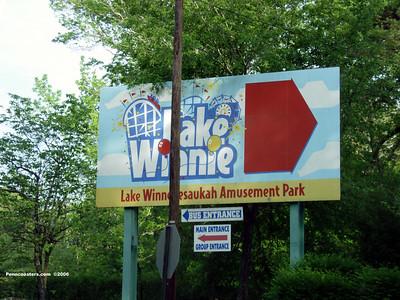 Lake Winnepesaukah, April 23, 2006