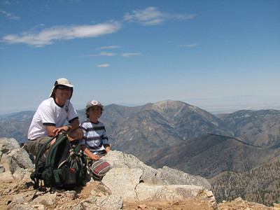 Mt. Baldy with John 7/22/07