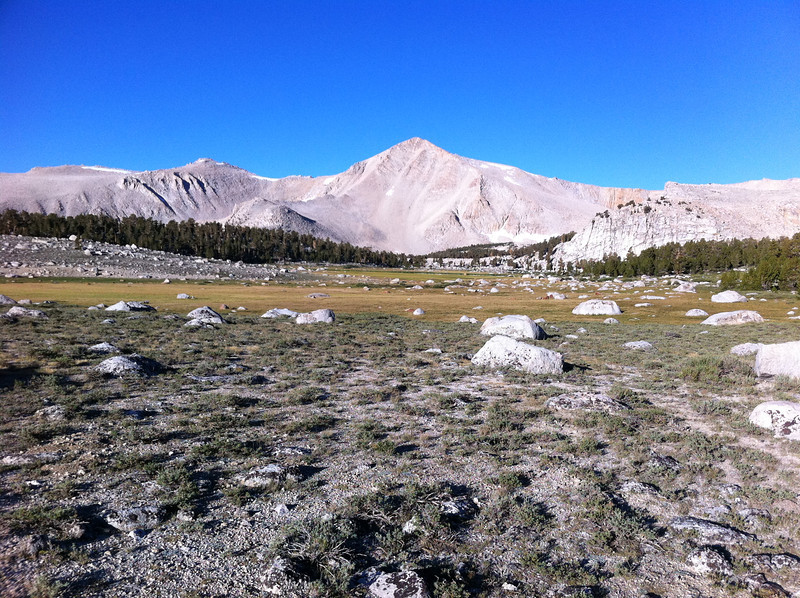 Taken with my iPhone.  Cirque Peak.