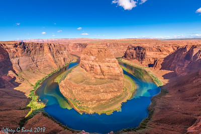 Horseshoe Bend and Glen Canyon Dam