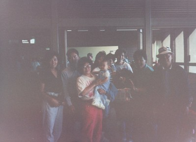 Louie family visiting hnl 1990