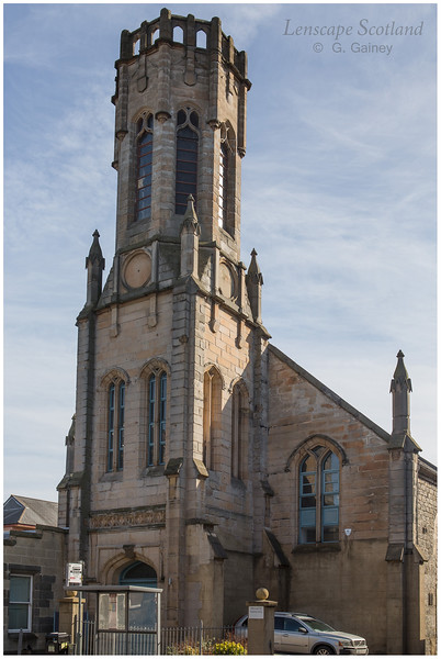 Former Saint John's East Church with lantern tower, Constitution Street