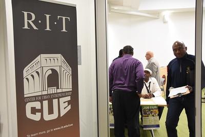 City hosts Job Fair at the RIT CUE Center. 4/27/2017