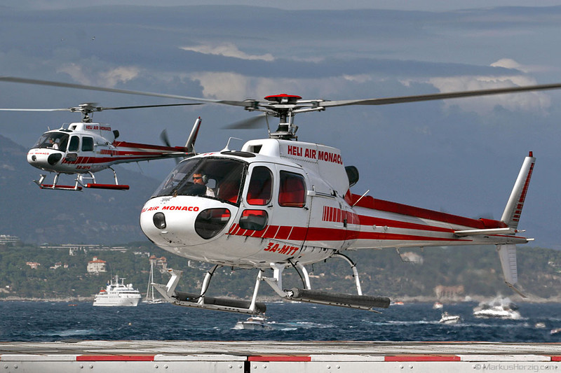 3A-MTT AS350B2 Heli Air Monaco @ Monaco 27May07