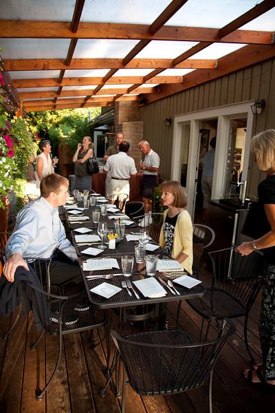 Board Dinner Summer '09