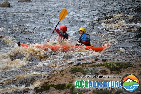 18th September 2013 - Findhorn Canoe Kayak on the River Findhorn