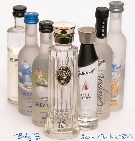 Baby IS - 50 ml ISVodka Collector's Bottle