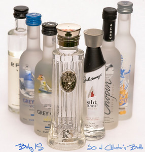 Baby IS - 50 ml ISVodka Collector's Bottle