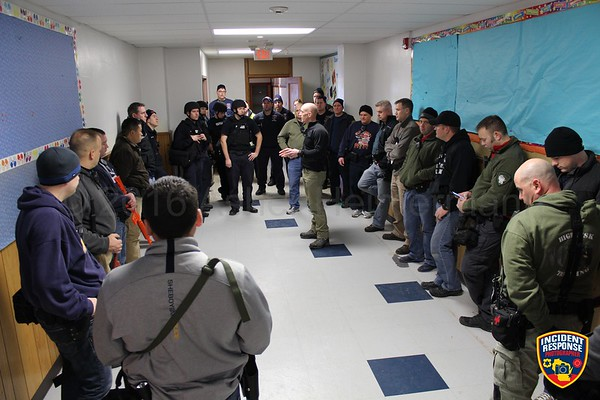 Active shooter training on January 20, 2016