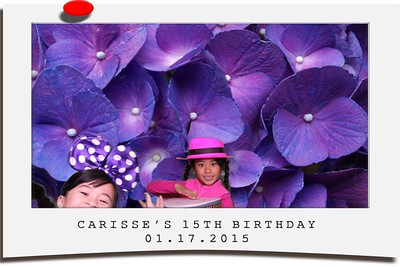 Carisse 15th Birthday - Prints
