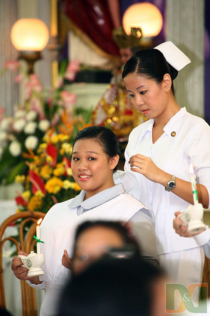 58th Candle Lighting, Badging & Capping