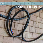 SKU: P-METALWISE/3L7, MetalWise Mach-Three 130A Plasma Air-Cooling Mechanized Torch 7 Meters Long Torch Lead