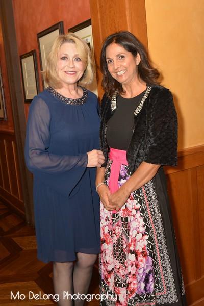 Debra McDaniels and Linda Kerslake