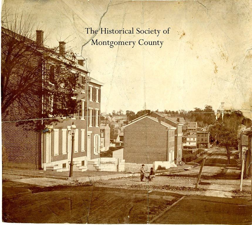 . This undated photo from the Historical Society of Montgomery County shows Penn and Green streets in Norristown.