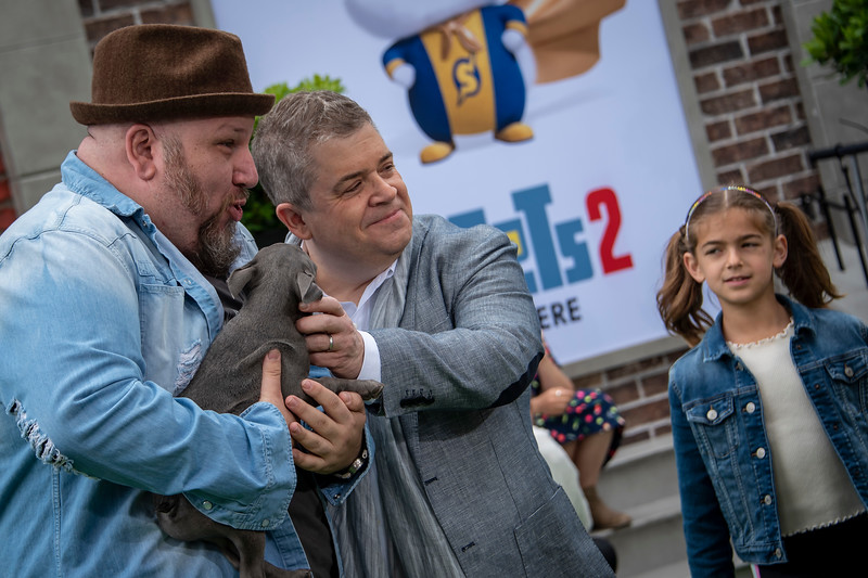 WESTWOOD, CALIFORNIA - JUNE 02: Stephen Kramer Glickman and Patton Oswalt attend the Premiere of Universal Pictures' 'The Secret Life Of Pets 2' at Regency Village Theatre on Sunday, June 02, 2019 in Westwood, California. (Photo by Tom Sorensen/Moovieboy Pictures)
