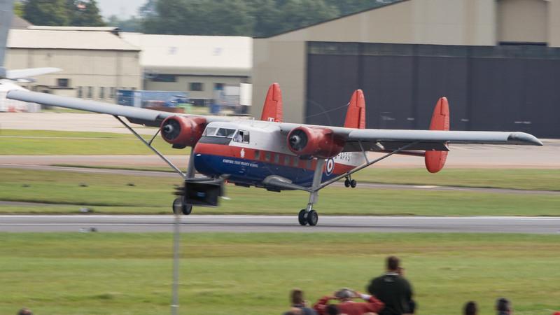 Empire Test Pilots School, G-APRS, RIAT 2007, SRS3, Scottish Aviation, Twin Pioneer