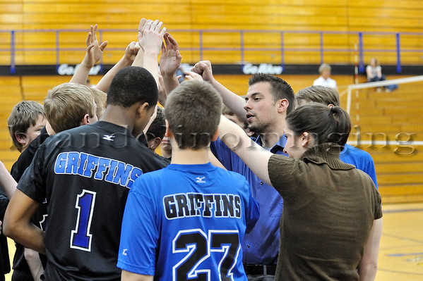 Lincoln-Way East Freshmen Boys Volleyball (2010)