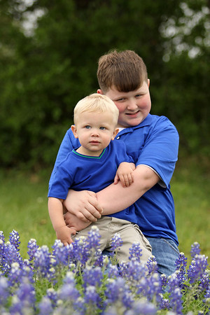 Joleigh Ares Family Bluebonnets