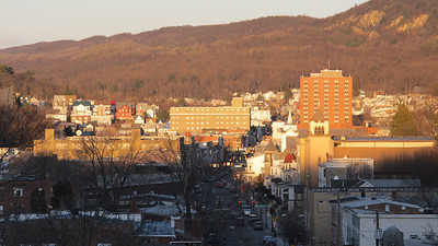 View of Downtown from Odd Fellows Cemetery, Tamaqua (3-26-2014)