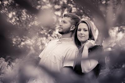 Veronika & Lucas engagement portraits