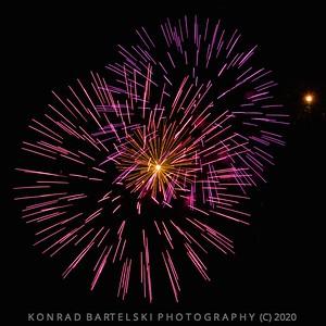 Salcombe Fireworks