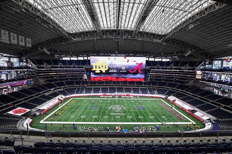 Rose Bowl: Alabama vs Notre Dame