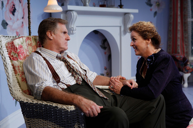 Paul O'Brien and Bairbre Dowling in IS LIFE WORTH LIVING? by Lennox Robinson  Photo: Richard Termine