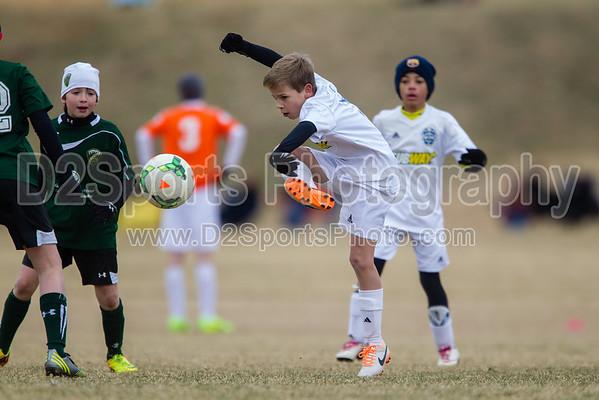 U11 TCYSA Twins White vs CUFC Man City 1/25/2014
