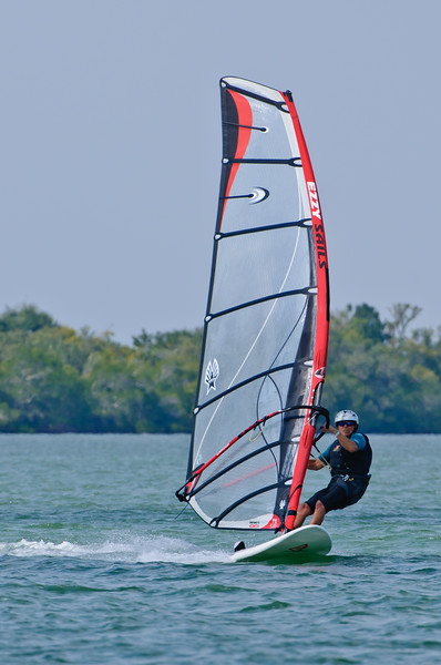 Wind Surfing Sanibel Causeway